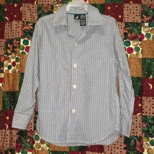 Boys Nautica Button Up Shirt